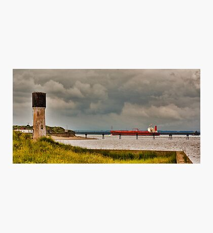 Leaving the Humber Estuary Photographic Print