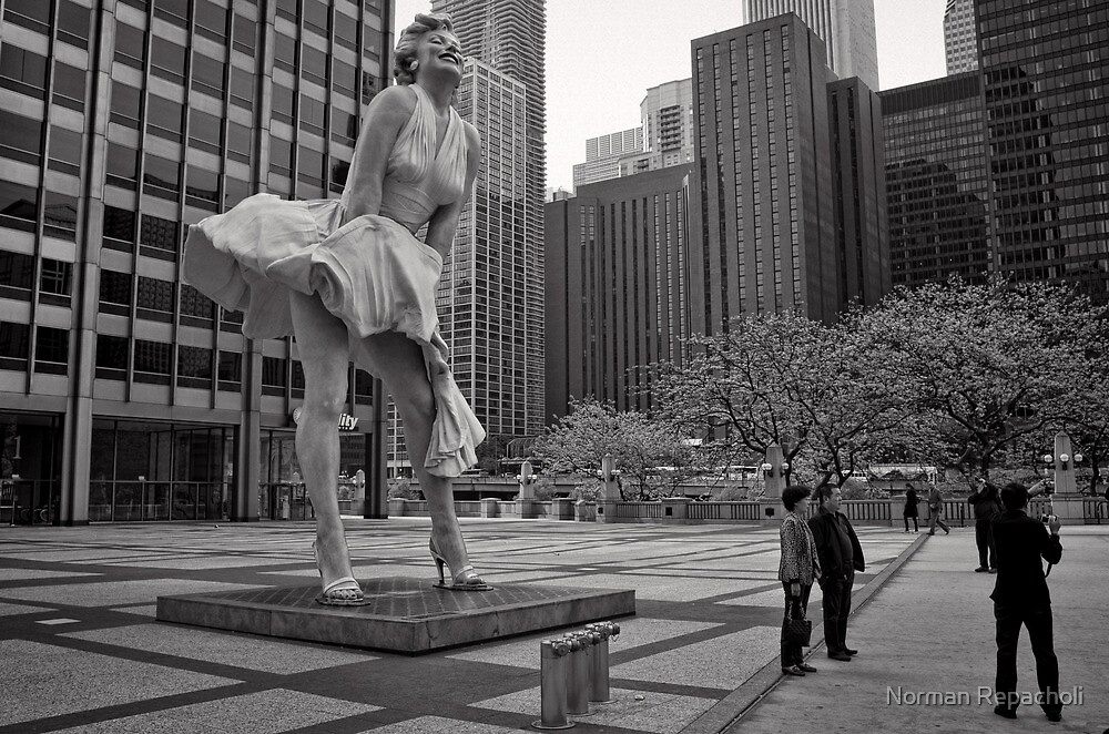 Windy City - Chicago by Norman Repacholi