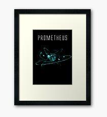 Prometheus teeshirt/Print Framed Print