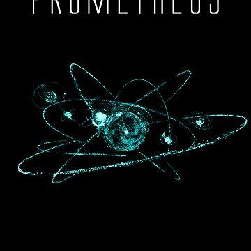 Prometheus teeshirt/Print by PickleWarrior