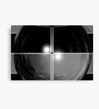 Thoughts in Black and White Canvas Print