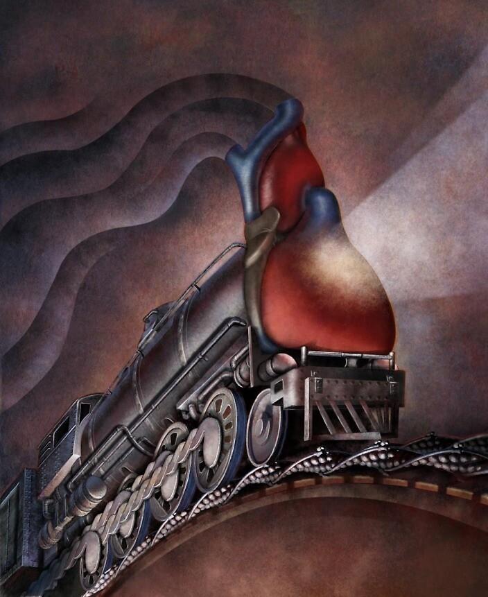 Myosin Train by Jim rownd