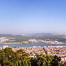 Panorama over Viana do Castelo by João Figueiredo