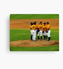 An Evening At The Game ~ Part Three Canvas Print