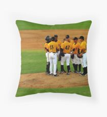 An Evening At The Game ~ Part Three Throw Pillow