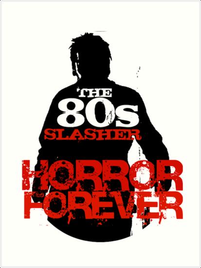The 80s Slasher by MetalheadMerch
