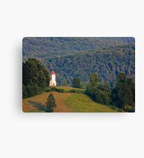 Church of Saint Lawrence Canvas Print