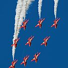 The Red Arrows RIAT 2015 12 by Colin  Williams Photography