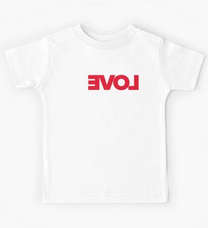 Revolution of love (white text) Kids Clothes
