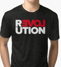 Revolution of love (white text) Tri-blend T-Shirt