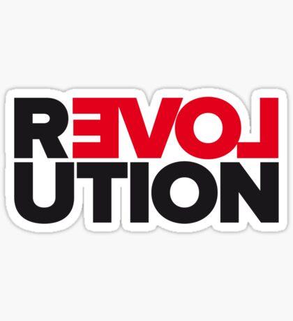Revolution of love Sticker