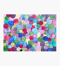Colored Balls. Photographic Print