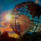Sunset at the Unisphere by Chris Lord