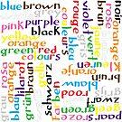 Colour language by Morag Anderson
