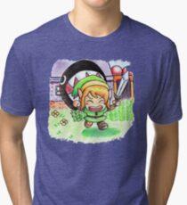 Run Link run Tri-blend T-Shirt