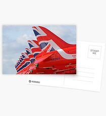 The Red Arrows RIAT 2015 3 Postcards
