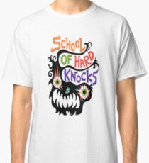 School Of Hard Knocks black Classic T-Shirt