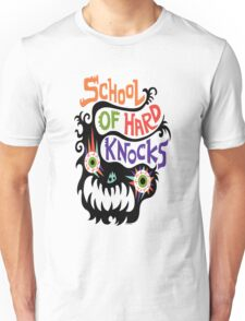 School Of Hard Knocks black T-Shirt