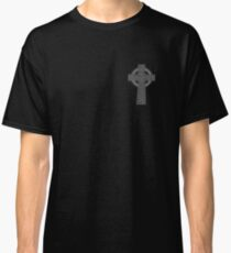 Celtic High Cross Greyscale Classic T-Shirt