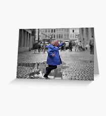 Childs Play Greeting Card