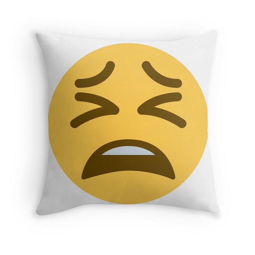 Iphone Emoji Tired Face - 0425