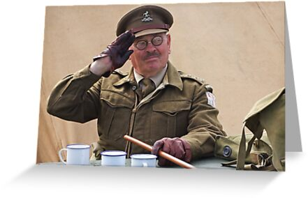 """You Stupid Boy"" (Captain Mannering - Dads Army) by Colin  Williams Photography"