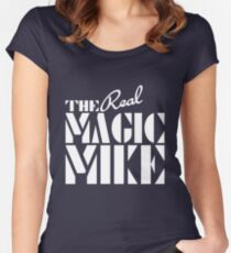 The REAL Magic Mike Women's Fitted Scoop T-Shirt
