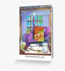 Virtual Turkey Greeting Card