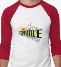 STOPPABLE - the tram story Men's Baseball ¾ T-Shirt