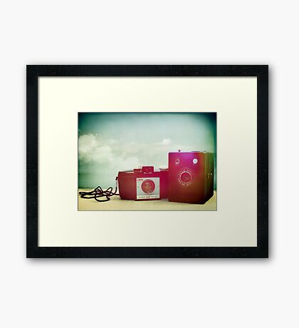 Two Brownies Togethers Framed Print