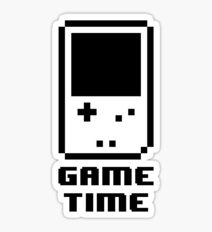Game Time - 8-bit Style Sticker