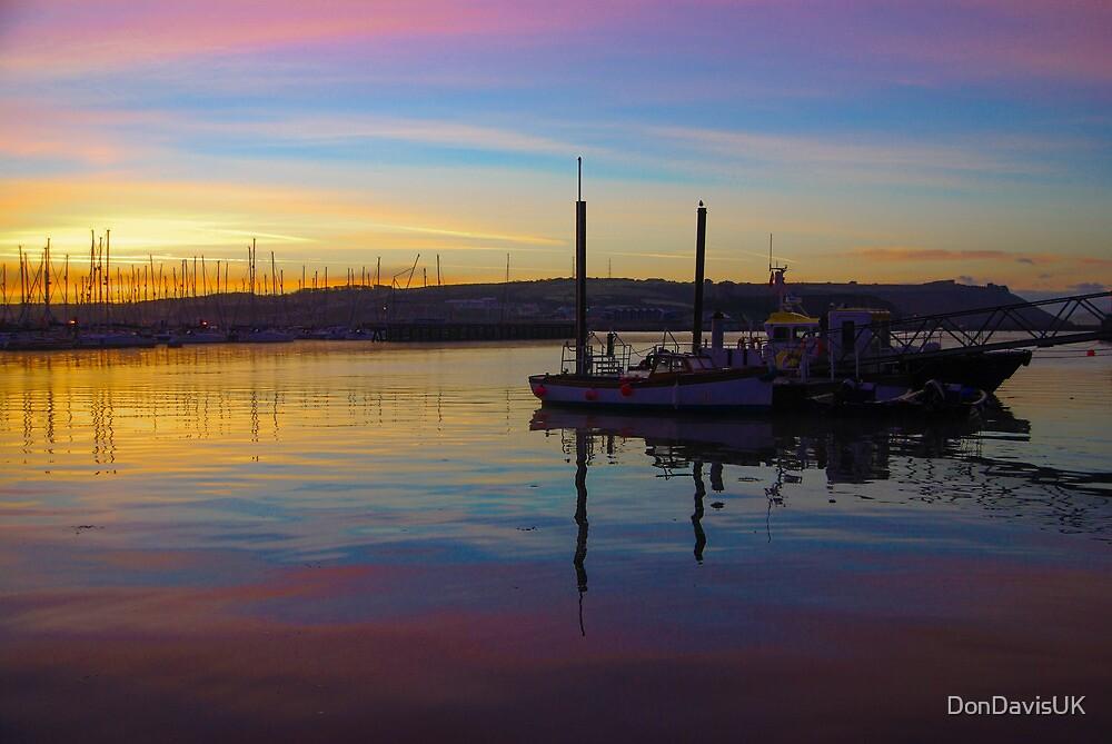 Sunrise Plymouth Barbican by DonDavisUK