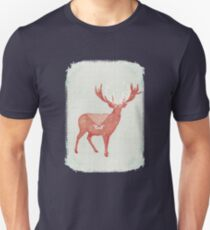 Christmas Stag Unisex T-Shirt