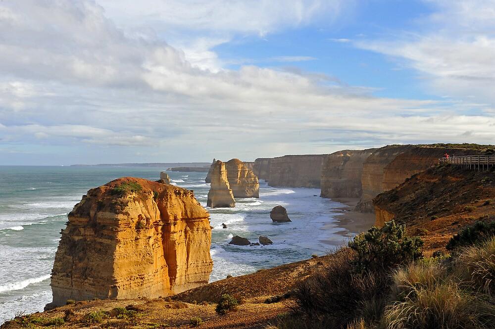 The Twelve Apostles. Port Cambell National Pk, Victoria, Australia. (5) by Ralph de Zilva