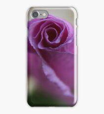Purple propellor  iPhone Case/Skin