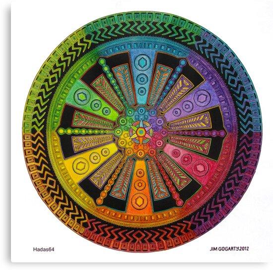 Mandala 43 drawing rainbow 1 by mandala-jim