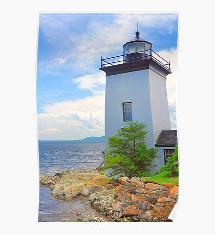 Isleboro Lite, Maine Poster