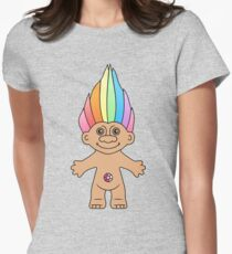 Troll Magic Womens Fitted T-Shirt