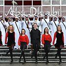 ABU DABHI & IRSH DANCERS by JoeTravers