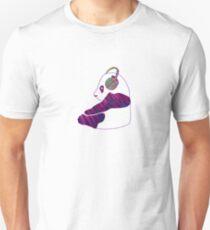Chillin panda Unisex T-Shirt