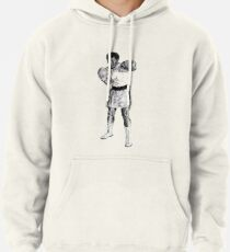 Boxing Champ M. Ali. Rumble in the Jungle Pullover Hoodie