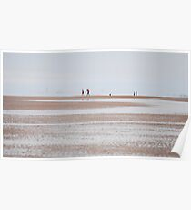 The Beach at Formby Poster