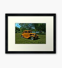 1931 Ford 5 Window Coupe Hot Rod Framed Print