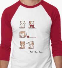 Soft Kitty Men's Baseball ¾ T-Shirt