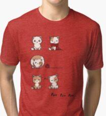 Soft Kitty Tri-blend T-Shirt