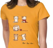 Soft Kitty Womens Fitted T-Shirt