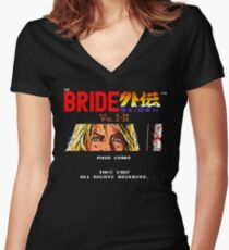 The bride gaiden (Beatrix eyes version) Women's Fitted V-Neck T-Shirt
