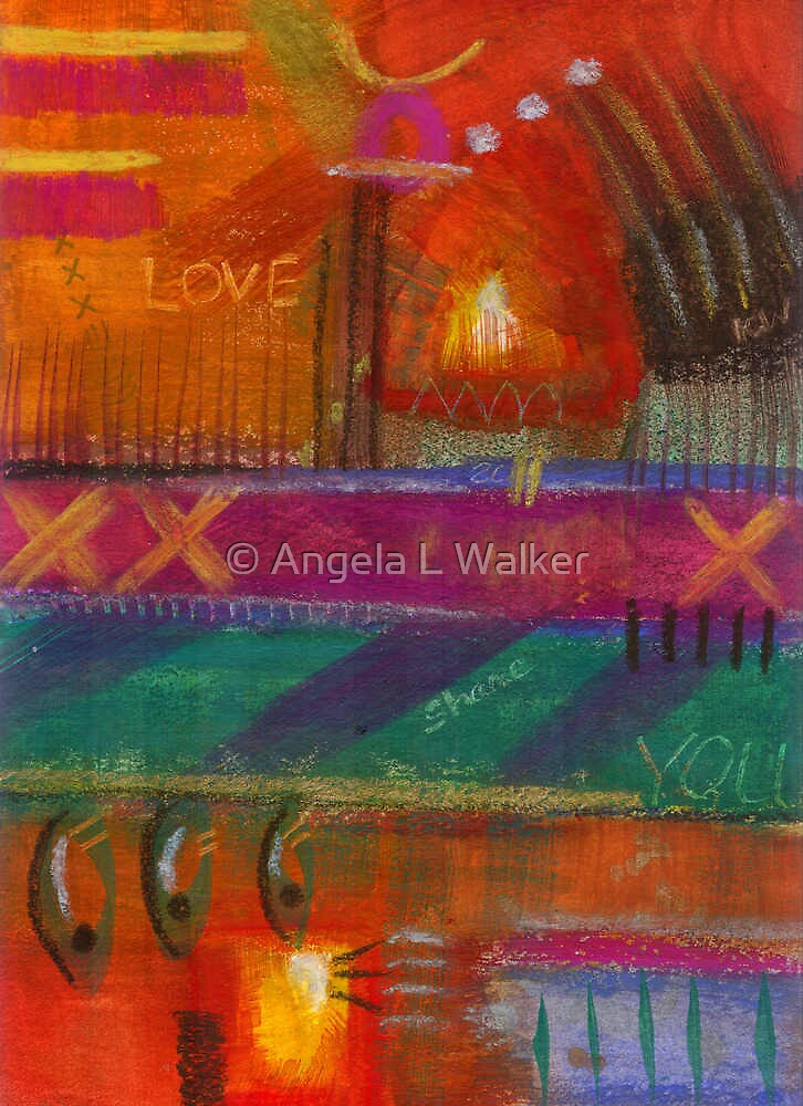 Being in LOVE by © Angela L Walker