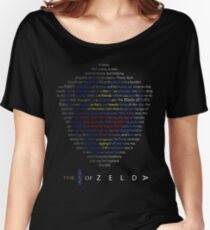 The Legend of Zelda Shield Poem Women's Relaxed Fit T-Shirt