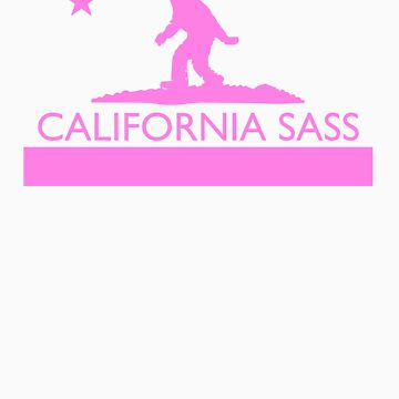 California Sass (Pink) by StatusWhoa